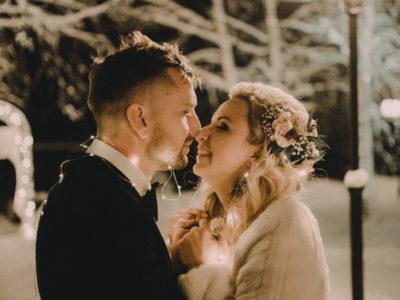 Raul + Paula Winter wedding
